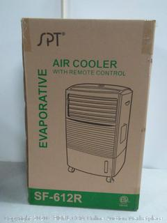 SPT SF-612R Evaporative Air Cooler with 3D Cooling Pad, White ( Factory sealed) online $120