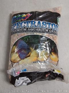 Spectrastone Shallow Creek Pebble for Freshwater Aquariums, 25-Pound Bag (online $37)
