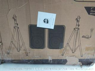Knox gear Hayden Studio PA speaker mixer bundle kit (online $239)