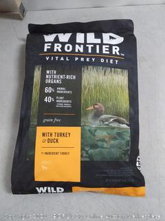 WILD FRONTIER VITAL PREY Adult Dry Dog Food with Turkey (online $41)