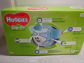 Huggies Little Movers Slip On Diaper Pants Size 6 -- 100 Diapers