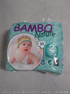 Bambo Nature Mini Size 2 3-6Kg 30 Nappies