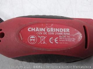 Oregon chain grinder