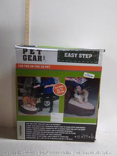 Pet Gear Stramp Stair and Ramp Combination, Extra Wide, Gentler (online $66)