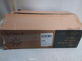 Zinus 2 Step Comfort Pet Stairs/Pet Ramp/Pet Ladder, Extra Small