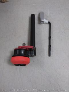 toilet valve and handle