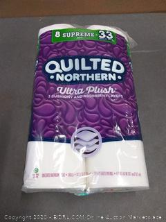 Quilted Northern Ultra Plush Supreme Toilet Paper, 8 rolls