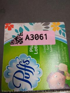 Puffs Plus lotion white facial tissue 4 pack