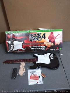 Xbox One rock band 4 Fender Wireless Stratocaster
