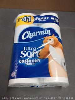 Charmin Ultra Soft Cushiony Touch Toilet Paper, 8 rolls