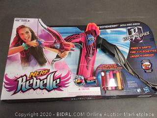 Nerf Rebelle Pink Strongheart Bow