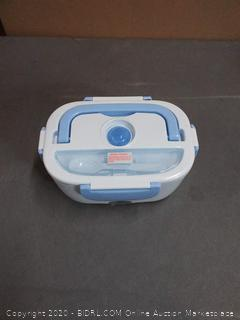 baby electronic lunch box (powers on)