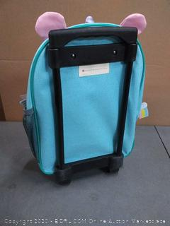 Skip Hop Zoo Little Kids Toddlers Rolling Luggage Travel Suitcase
