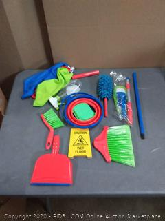 Play2 housekeeping playset complete cleaning kit.