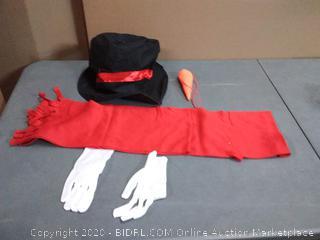 Polar Express snowman costume kit