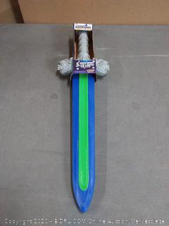 GEO sword with LED lights