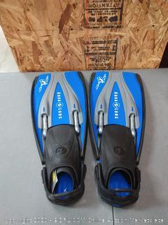 HotShots Aqualung flippers regular size
