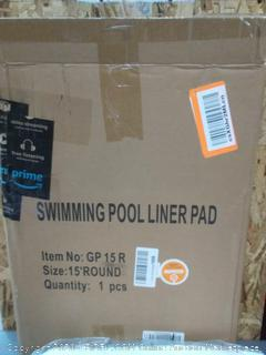 swimming pool liner pad by life liner