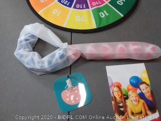 gdaytao dart board with 10 sticky balls