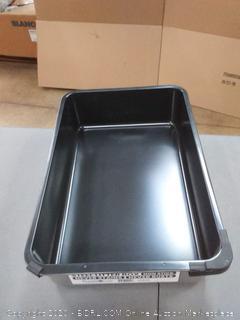 purple purple pet steel litter box non-stick