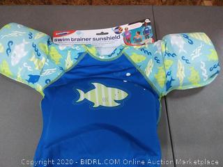 swimways swim trainer sunshield