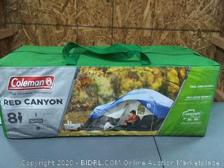 Coleman Red Canyon Tent - 8 person