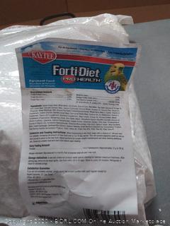 Kaytee Forti-diet Pro Health Parakeet Formula 071859998947
