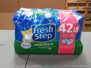 Clorox Petcare Fresh Step Odor Shield Clumping Litter