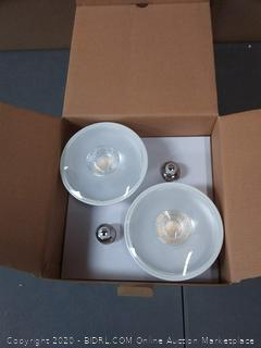 EcoSmart 90w replacement 4 pack par38 bright white LED