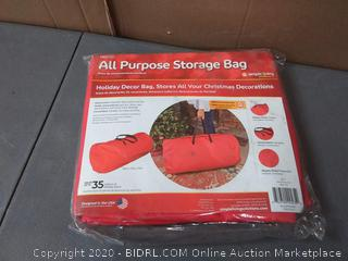 All Purpose storage bag stores all your Christmas decorations
