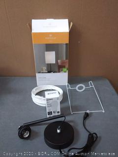 portfolio table lamp (lamp shade ripped)