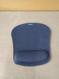TechNet mouse pad with armrest blue