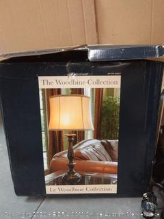 the Woodbine collection table lamp