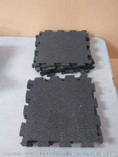 Apache Mills interlocking rubber utility flooring