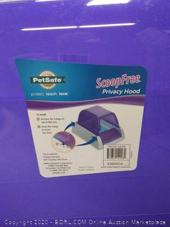 PetSafe ScoopFree Self-Cleaning Cat Litter Box Privacy Hood, Purple