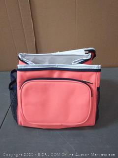 pink fabric kids lunch box