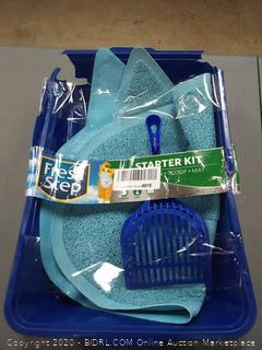 Fresh Step Litter Scoop, Litter Mat and Litter Box - tibs(cat box broken but scoop and pad fine)