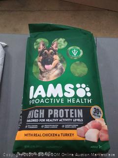 Iams Proactive Health Adult Dry Dog Food, High Protein Recipe with