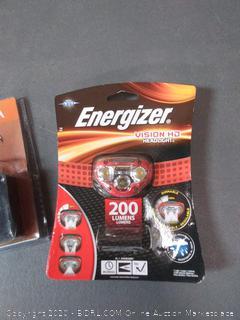 Energizer Vision HD headlight + Siemens combination type arc fault circuit interrupter