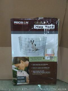 Precision Pet Ultimate Play Yard Exercise Pen - Black - UXP Model(rack c row2)