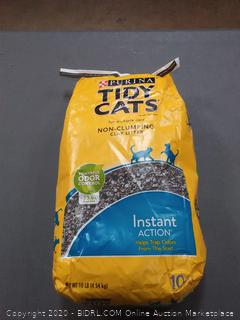TIDY CATS Instant Action for Multiple Cats 10 lb. Bag 10.00 lb Harris