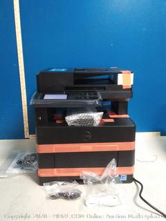 Dell Cloud multifunction printer h815dw(powers on/side cracked)