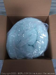 Lucid gel memory foam mattress topper 4-inch Queen (online $149)