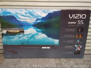 "VIZIO M-Series 55"" Class (54.5"" Diag.) 4K Ultra HD HDR Smart TV – M55-F0 (was factory sealed. opened to verify works) Online $700"