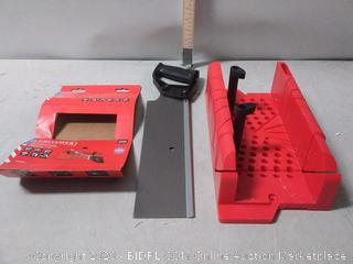 Craftsman Clamping Miter Box with Saw