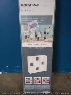 9 Cube Closet Maid Cubicle Organizer Home Room Shelf Stand