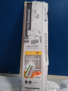 Cadet 36-inch electric baseboard(dented)