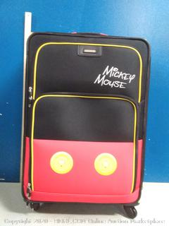 American tourister Mickey Mouse pants 28 in spinner luggage