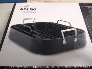 All-Clad Hard Anodized Nonstick 13 x 16 Roaster(Factory Sealed)COME PREVIEW!!!!! (online $87)