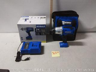 Cobalt 1/2 inch Impact Wrench Kit (Missing Battery)